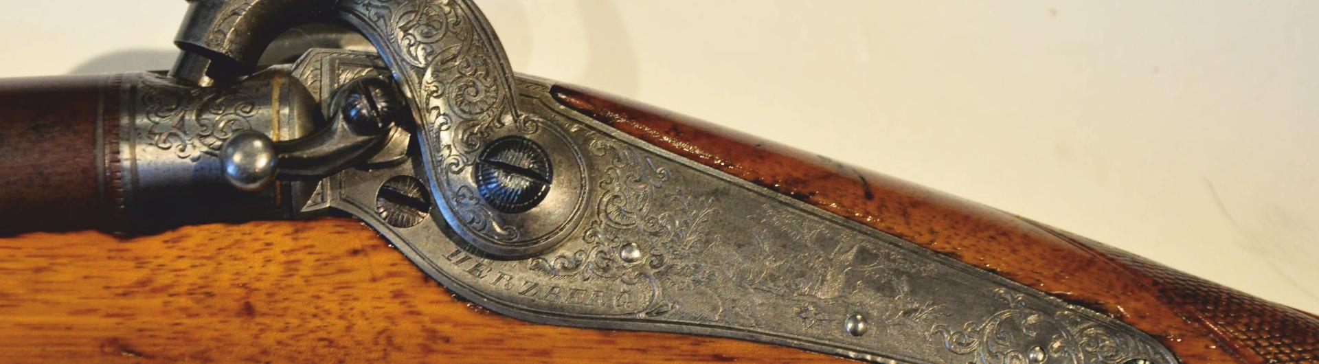 Perkussions-Infaneriegewehr mit Seitengewehr (M 1856)