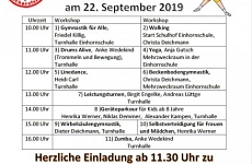 Flyer - Mitmachtag TV MutsMuths Scharzfeld 22. September 2019